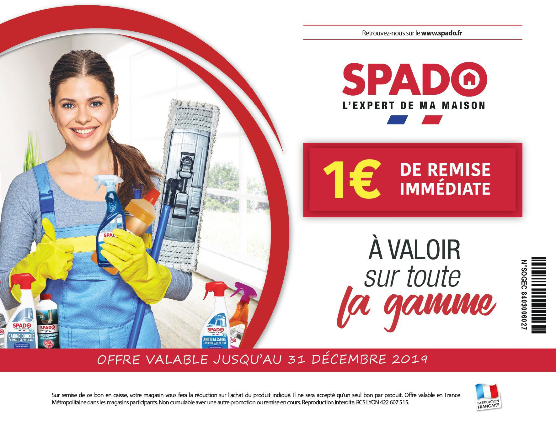 Coupon SPADO