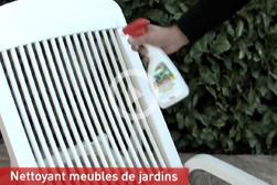 Comment nettoyer mon mobilier de jardin en plastique ?